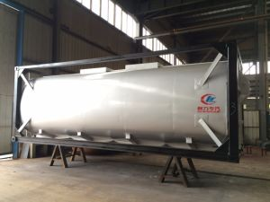20FT ISO Standard Chemical Liquid Propane Cubic Tank Container pictures & photos