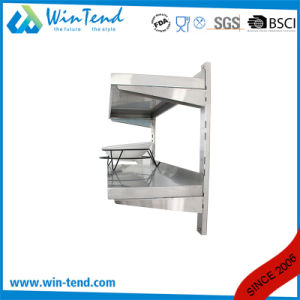 Manufactory Commercial Stainless Steel Kitchen Hanging Shelf Removable for Cleaning pictures & photos