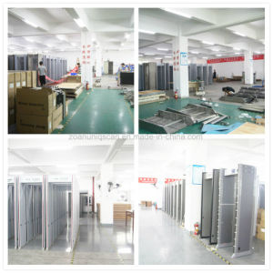 Factory Original 6 Zone Walk Through Metal Detector Most Popular Simple Security Gate pictures & photos