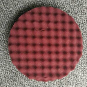 Polishing Sponge Pad with Plastic Backing Plate pictures & photos
