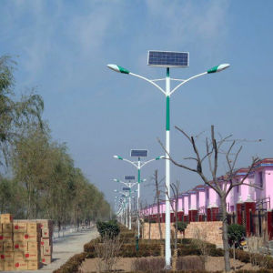6m Pole 65W LED Solar Streetlight pictures & photos