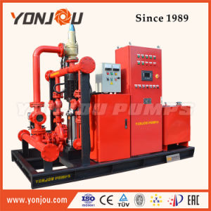 Cast Iron Diesel Engine Fire Fighting Pump, Jocky Pump with Air Tank pictures & photos