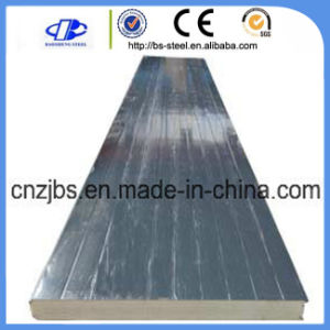 Heat Insulated Polyurethane Wall Sandwich Board pictures & photos