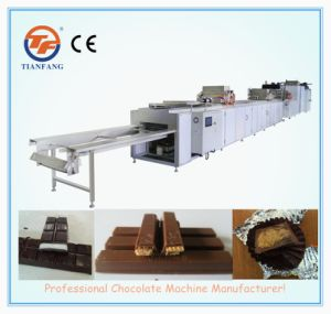 Three Shots Chocolate Casting Machine pictures & photos