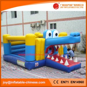 Inflatable Toy/ Crocodile PVC Inflatable Jumping Bouncer (T1-800) pictures & photos