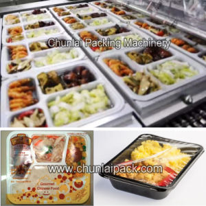 Automatic Lunch Box Sealing Machine pictures & photos