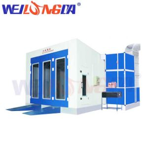 Wld8200 Auto Spray Booth Hot Sale in Belgium pictures & photos