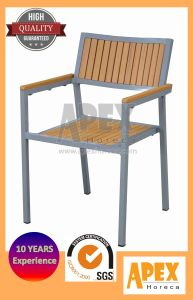 Polywood Cafe Furniture Plastic Wood Outdoor Furniture Dining Chair pictures & photos