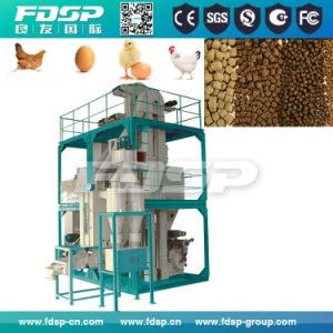 Professional Design 3-5t/H Feed Plant Line for Livestock Feed (SKJZ4800) pictures & photos