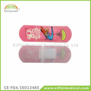 Waterproof Round Baby Cartoon Adhesive Plaster Bandage pictures & photos