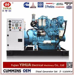 Weichai Engine and Marathon Marine Diesel Power Generator (15-375kVA/12-300kw) pictures & photos