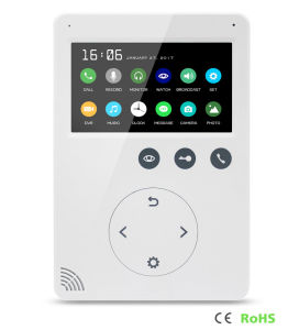 Memory 4.3 Inches Home Security Video Doorphone Intercom with DVR pictures & photos