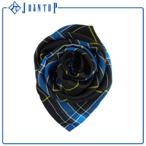 Various Styles Colors Women 100% Print Silk Scarf pictures & photos