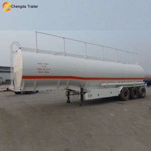 3 Axles Oil Fuel Tank Semi Trailer, Gasoline Tanker Trailer pictures & photos
