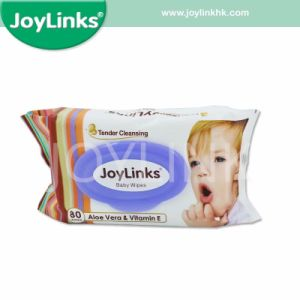 Wholesale 80PCS Baby Wet Wipes with Plastic Lid pictures & photos
