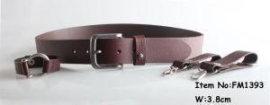 2017 Fashion Leather Belt for Men (FM1393) pictures & photos