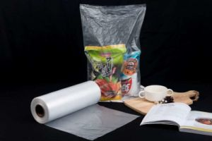 HDPE Plastic Transparent Flat Bag on Roll for Supermarket pictures & photos