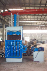 Hydraulic Wool Tops Vertical Baler Recycling Baling Machine pictures & photos