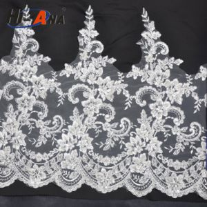 Familiar in OEM and ODM Top Quality Lace Embroidery Fabric pictures & photos