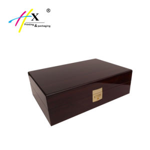 High Quality Custom Golss Wooden Watch Packing Box pictures & photos
