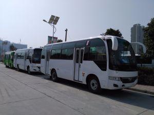 China 30-35 Seats Shuttle Bus City Bus Tourist Bus (SLG6750C3F) pictures & photos