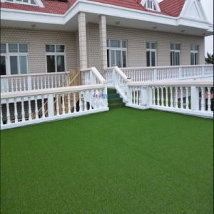 Flat Yarn Artificial Grass for Garden Leisure pictures & photos