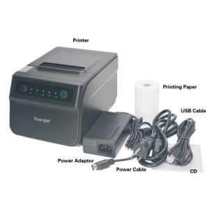 New Design 80mm Thermal Receipt Printer / USB+Serial +Ethernet pictures & photos