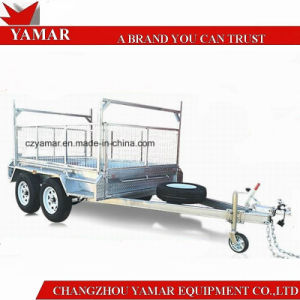 ATM 2000kg Box Trailer with Cage/Dump Trailer/Tipper Trailer pictures & photos