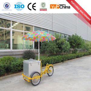 Good Quality Mobile Food Truck / Ice Cream Push Cart Price pictures & photos
