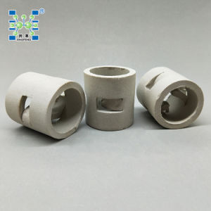 Anti-Acid & High Temperature Endurance Random Tower Packing Ceramic Pall Ring pictures & photos