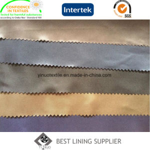 100% Polyester Soft 100d*100d Twill Lining Bag Suit Jacket Coat Lining pictures & photos