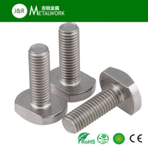 Customized A2 A4 Stainless Steel T Hammer Bolt (SS304 SS316) pictures & photos