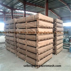 China Stainless Steel Square Crimped Weave Wire Mesh pictures & photos