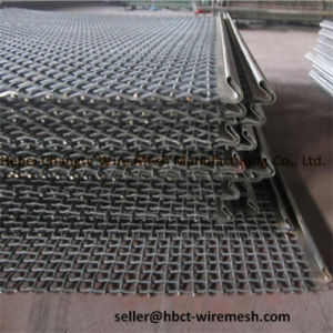 High-Carbon Steel Crimped Square Wire Mesh for Vibrating Screen pictures & photos
