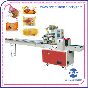 Semi Automatic Bakery Biscuit Packaging Machine Cake Packaging Equipment for Sale pictures & photos