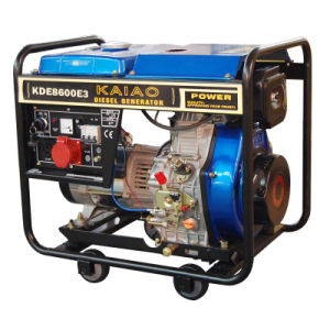 KDE8600E3  Set self running generator small 8kva diesel pictures & photos