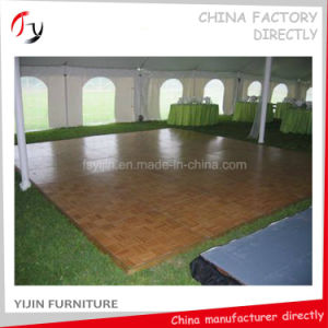 Black Painting Plywood Durable Contemporary Dance Floor Price (DF-27) pictures & photos