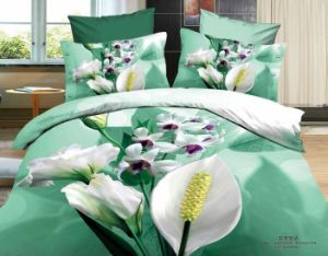 2016 Hot Sale 3D Reactive Printing Cotton Bedding Sets pictures & photos