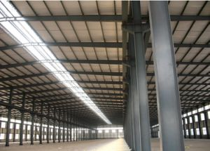 With Q345 High Strength Steel Column&Beam Steel Strcuture pictures & photos