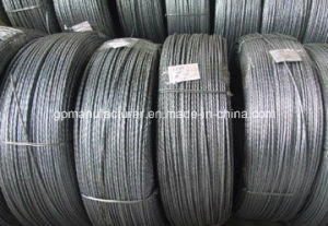 Hot-DIP Galvanized Steel Strand 1*7/1*19 pictures & photos