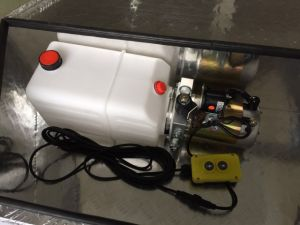 DC 12V/24V Dump Trailer Hydraulic Power Unit pictures & photos
