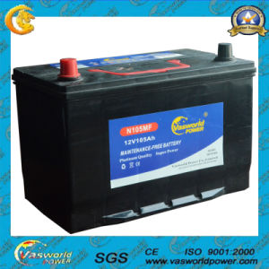 12V80ah Mf Car Battery Made by Professional Assembly Line pictures & photos