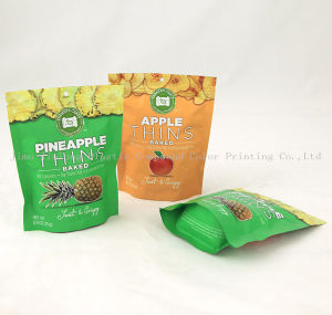 Custom Printed Stand up Nutrilite Pouch, Plastic Dried Food Packaging Bag with Zipper pictures & photos