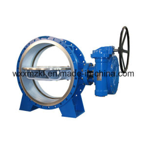 Good Quality Big Diameter Motor Butterfly Valve pictures & photos