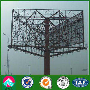 Construction Design Steel Billboard Structure for Advertising pictures & photos