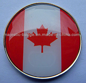 National Flag Sign Marker (MJ-Golfball Marker-049) pictures & photos