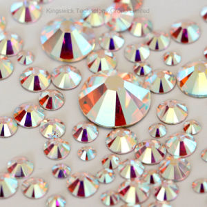 Wholesale Flatback Ab Crystal Ss20 DMC Hot Fix Rhinestones for Clothes and Garment Decoration pictures & photos