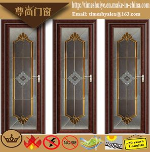 Interior Decoration Broken Bridge Aluminium Doors for Bathroom pictures & photos