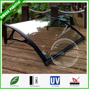 Cheap Transparent 2mm Soild PC Polycarbonate Rain Cover Awning Canopy pictures & photos