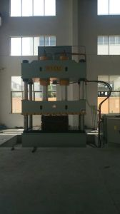 Four-Column Single-Movement Hydraulic Press for Sheet Metal Drawing Yll27-315 pictures & photos